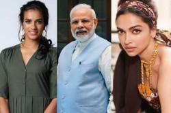 Deepika Padukone Pv Sindhu Lead Bharatkilaxmi Campaign Started By Pm Narendra Modi