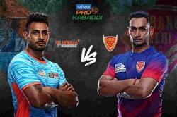Pro Kabaddi Dabang Delhi Vs Bengal Warriors Final Match Schedule Timings Venue Teams Details Drea