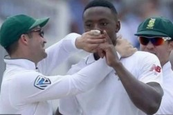 India Vs South Africa 2nd Test Kagiso Rabada Fire On Quinton De Kock Faf Du Plessis Intervenes