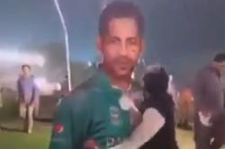 Pakistan Fan Destroys Captain Sarfaraz Ahmed S Hoarding Post Loss Against Sri Lanka