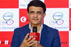 Image Of Bcci First Class Cricket Priority For Me Sourav Ganguly