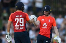 Eoin Morgan Dawid Malan Break Multiple Records With Highest Partnership For England In T20is