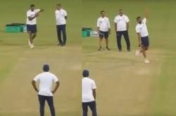 India Vs Bangladesh Ravi Ashwin Emulates Sanath Jayasuriyas Bowling Action