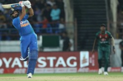 Rohit Sharma Breaks Ms Dhoni S Most Sixes Record After Rajkot T20i