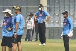 Sore Throats But Nobody Dying Bangladesh Cricket Coach On Training In Delhi Air Pollution