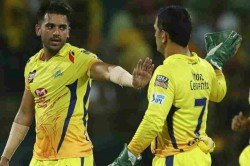 When In Trouble I Recall Dhoni Bhai S Tips Hat Trick Man Deepak Chahar