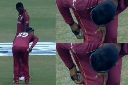 Nicholas Pooran Handed 4 Match Suspension For Changing Condition Of Ball In 3rd Odi Vs Afghanistan