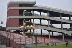 Ddca Unveils Stand Named After Gautam Gambhir At Arun Jaitley Stadium
