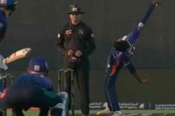 T10 League Sri Lanka Spinner Koththiigoda S Bowling Action Reminiscent Of Paul Adams