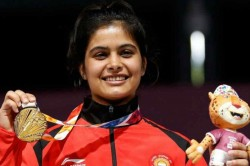 World Cup Final Manu Bhaker Bags Gold Breaks Junior World Record In 10m Air Pistol