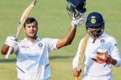 India Vs Bangladesh Mayank Agarwal 243 Ajinkya Rahane 86 Give India Massive Lead