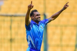 Abhimanyu Mithun Takes Five Wickets In An Over Including Hat Trick Against Haryana In Mushtaq Trophy