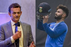 Don T Try To Be Dhoni Learn Everything You Can From Him Gilchrist Advice To Pant