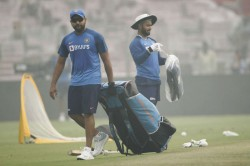 India Vs Bangladesh Rohit Sharma Cleared To Play First T20i After Injury Scare In Nets