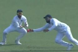 India Vs Bangladesh Day Night Test Rohit Sharma Turns Superman To Pluck One Handed Stunner At Slip