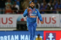 Rohit Sharma Loses Cool After Error On Large Display Screen