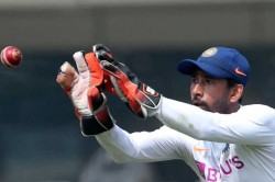 Told My Teammates I Could Not Fail In Front Of 70000 People Wriddhiman Saha On Pink Ball Test