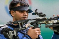 Shooter Deepak Kumar Bags Bronze And Olympic Quota