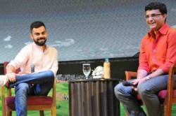 India Vs Bangladesh Sourav Ganguly Said Virat Kohli Would Be Happy To See Full House When He Walks
