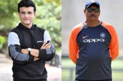 Ravi Shastri Will Also Be Involved With Nca During His Coaching Tenure Says Sourav Ganguly