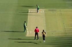 Australia Vs Pakistan 3rd T20i Mitchell Starc Clean Bowls Mohammad Rizwan For A Duck