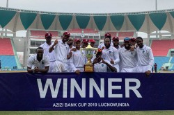 West Indies Crush Afghanistan By 9 Wickets In One Off Test