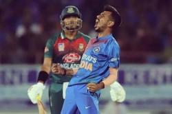 India Vs Bangladesh Yuzvendra Chahal Beats Bumrah Ashwin To Become Fastest India To Take 50 T20i Wic