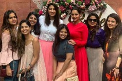 Sania Mirza S Sis Anam Mirza Enjoys Her Bridal Shower Ahead Of Wedding Gives Glimpse Of Team Bride