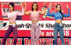 Muscles Under Wraps At Bangladesh S First Body Building Contest For Women