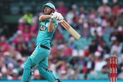 Chris Lynn Smashes Sixer Filled 95 For Brisbane Heat In Big Bash League