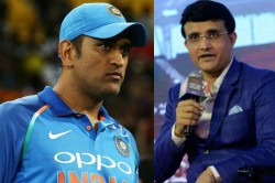 Bcci Cannot Be Thankful Enough For What Ms Dhoni Has Done Sourav Ganguly