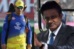 Former Captain Anil Kumble Gives His Take On Ms Dhoni S Future With Indian Team