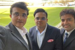 Nice Venue To Get Back To In A Different Capacity Sourav Ganguly Posts Selfie At Lords