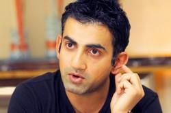 Gautam Gambhir Is Not Eligible To Contest For President S Post Ddca