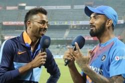 India Vs West Indies 3rd T20 Hardik Pandya Interviews Kl Rahul After Indias T20 Series Win