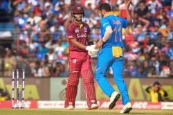 India Vs West Indies 3rd Odi Jadeja Shami Send Back West Indies Openers After Fifty Stand
