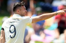 James Anderson Joins Exclusive List Of Bowlers After Dean Elgar Dismissed For