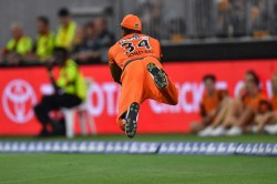 Perth Scorchers Vs Melbourne Renegades Chris Jordon Takes Stunning Catch In Big Bash League