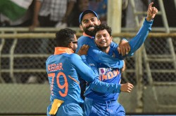 India Vs West Indies 2nd Odi Spinner Kuldeep Yadav First Indian Bowler To Claim Two Hat Tricks
