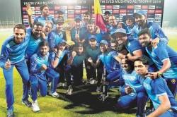 Syed Mushtaq Ali Trophy Karnataka Become Domestic T20 Champions After Beating Tamil Nadu