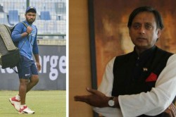 India Vs West Indies Mp Shashi Tharoor Is Unhappy With Sanju Samson Absence From Second T20i