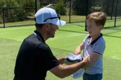 Ricky Ponting Joins Twitter Shares Pictures With His Son