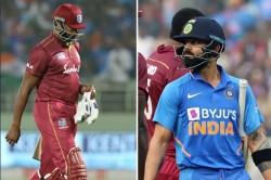 India Vs West Indies 2nd Odi Virat Kohli Kieron Pollard Set Unwanted Record After Golden Ducks