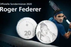 Federer Posts Thank You Video After Swiss Coin Minted In Honour