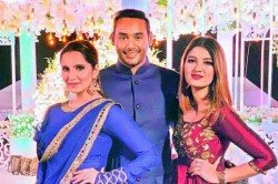 Sania Mirza S Sister Anam Marries Mohd Azharuddin S Son Asaduddin In Hyderabad