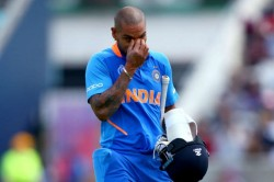 India Vs West Indies Shikhar Dhawan To Miss Out West Indies Odi Series Also