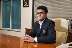 Please Ask Ms Dhoni Sourav Ganguly On Msd Participation In T20 World Cup