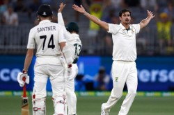 Mitchell Starc Finishes With Nine Wickets In Perth Test As Australia Crush New Zealand