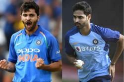 Shardul Thakur Replaces Injured Bhuvneshwar Kumar For Odi Series Against West Indies