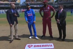 India Vs West Indies West Indies Have Won The Toss And Have Opted To Field